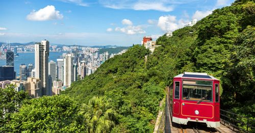 Ride the Peak Tram up The Peak