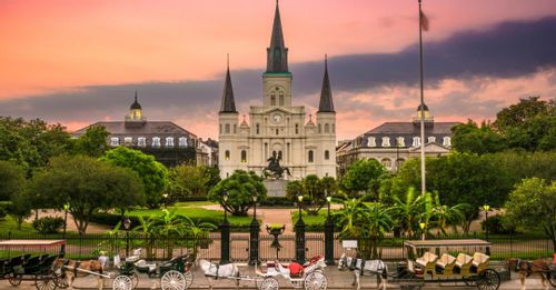 Visit the St. Louis Cathedral