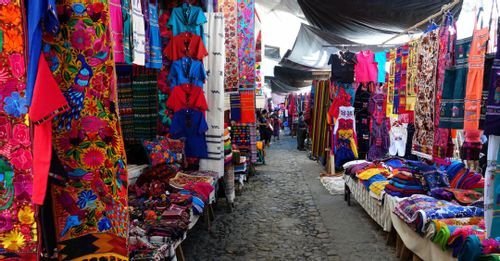 Shop at Chichicastenango Market