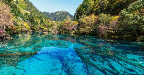 Visit the Jiuzhai Valley National Park
