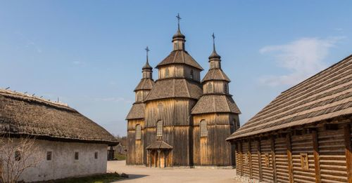 Khortytsia Island - Isle of the Cossacks