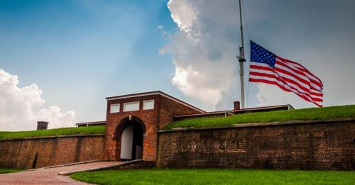 Learn history at Fort McHenry