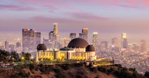 See Los Angeles from above at the Griffith Observatory