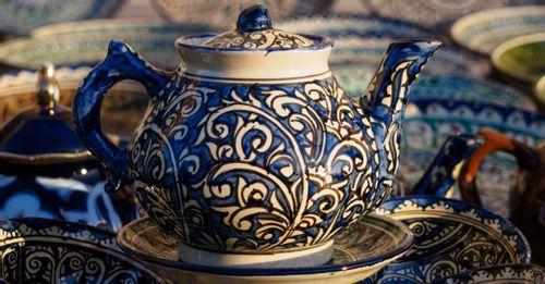 Visit the Silk Road Tea house