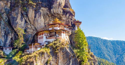 Hike to the famous Tiger's Nest Monastery for the best views of the Paro Valley