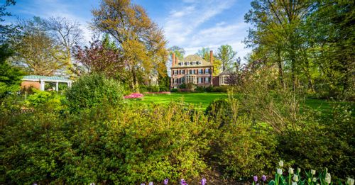 Explore nature at Sherwood Gardens