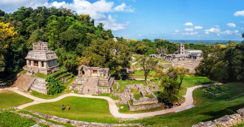 Check out the Palenque ruins