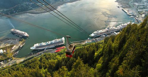 Ride the Mount Roberts Tramway