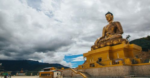 Visit Buddha Point to see the largest Buddha statue in Bhutan