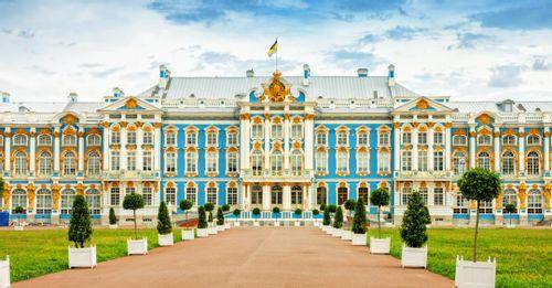 Pushkin Versailles-Styled Palace