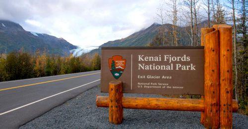 Explore parts of the Kenai Fjords National Park
