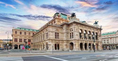 See a live opera performance from the opulent Vienna State Opera House