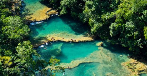 Take a trip to Semuc Champey Pools