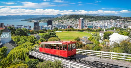 Ride the Wellington Cable Car