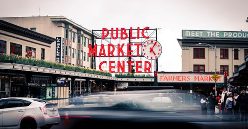 Get lost at Pike Place Public Market