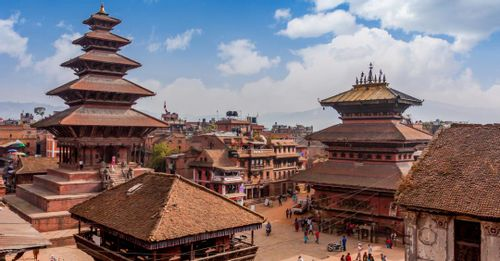 Walk the old city center in Bhaktapur