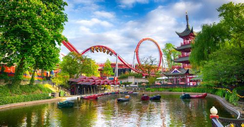 Have fun at Tivoli Gardens