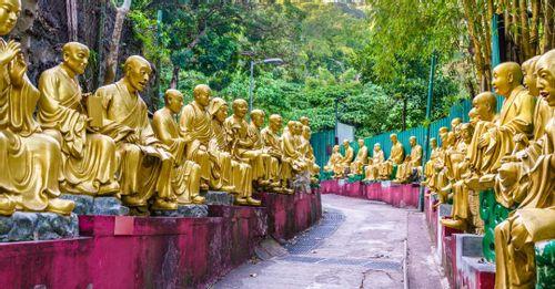 Explore the 10,000 Buddhas Monastery