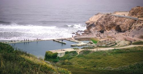 Relax at Sutro Baths