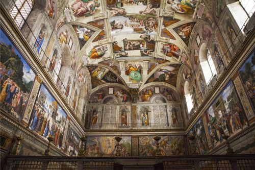 Admire the Sistine Chapel in Vatican City