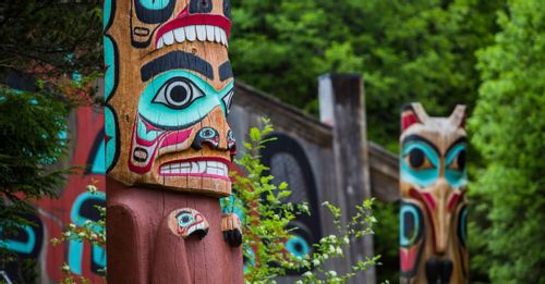 Visit the Alaska Native Heritage Center