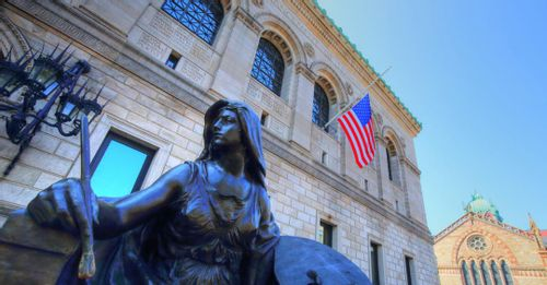 Explore the Boston Public Library
