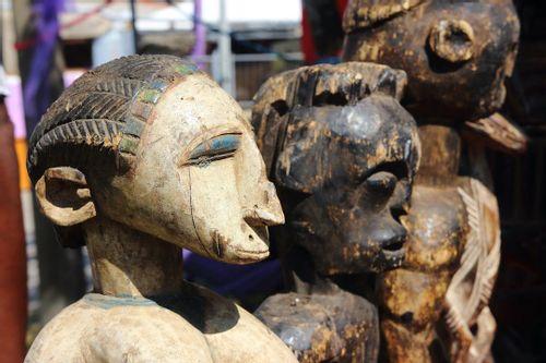 Buy woodcraft at Mwenge Woodcarvers Market, Dar es Salaam, Tanzania