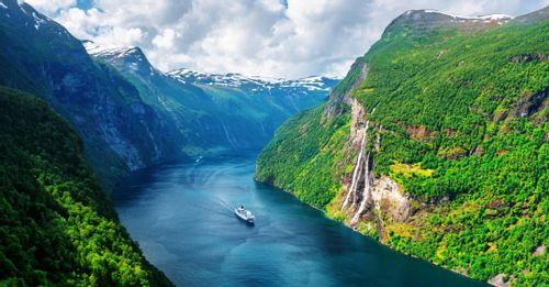 Hop on a scenic fjords cruise