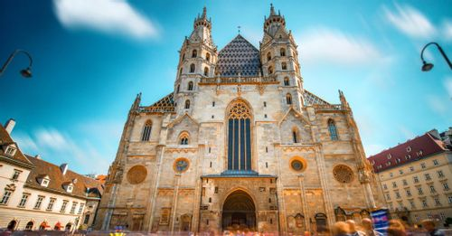 Climb to the top of the St. Stephan's Cathedral for an excellent view overlooking all of Vienna