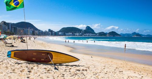 Hang out at Copacabana Beach for the perfect day out in the sun