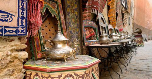 Shop at Medinas, Casablanca, Morocco