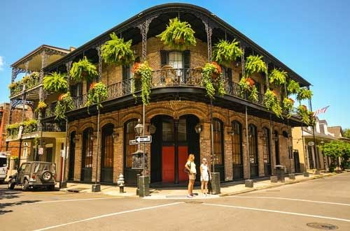 Wander Around the French Quarter