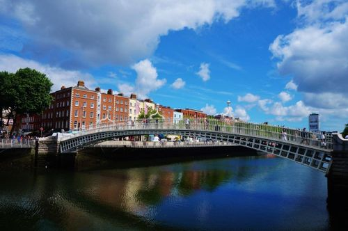 Walk Across Ha'penny Bridge