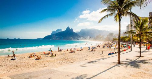 Soak up the sun at Copacabana for the perfect beach day