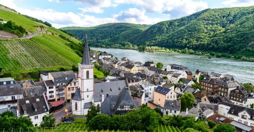 Rudesheim am Reim, Germany