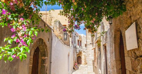 Meander Around Old Town Rhodes