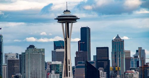 See Seattle from above at the Space Needle