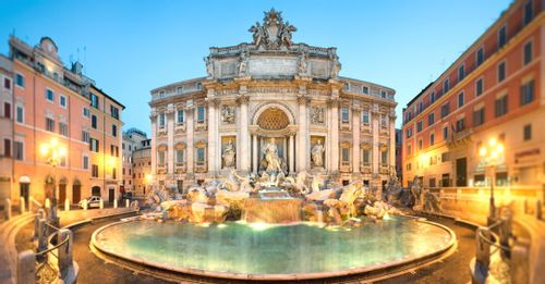 Throw a Coin in the Trevi Fountain