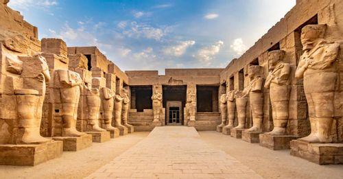 The Karnak Temples in Luxor