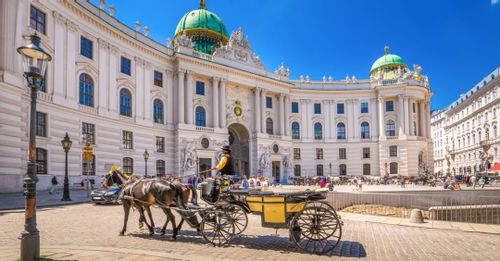 See artifacts in the Hofburg Palace museums to see the extravagant lifestyle of the former imperial dynasty