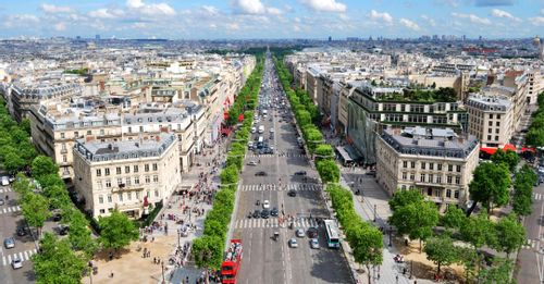 Walk the Champs -Elysees