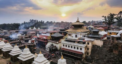 Witness the cremation ceremonies at the Pashupatinath Temple