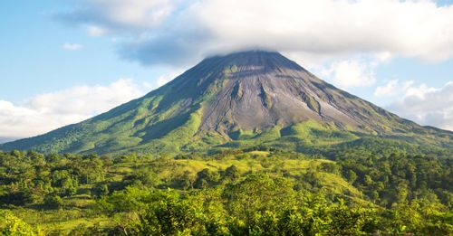 See the Arenal Volcano