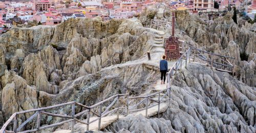 Walk amongst the towering spires in the Valle de la Luna