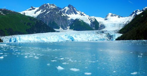 9. Take Scenic Cruise of Alaskan Gulf and Explore the Mighty Meares Glacier
