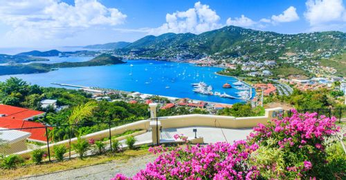 Visit the town of Charlotte Amalie