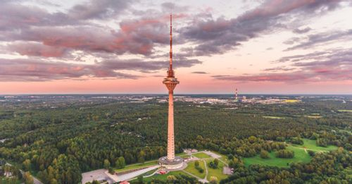 See the view from the Tallinn TV Tower