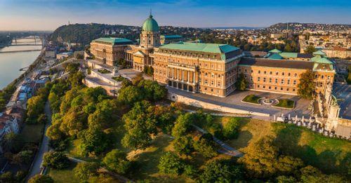 Visit Buda Castle in Budapest