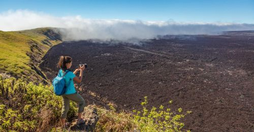 Visit the Sierra Negra Volcano