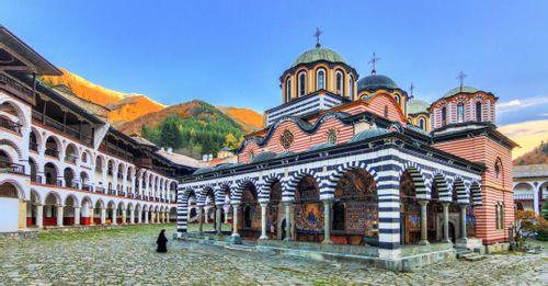 Explore the historic Rila Monastery